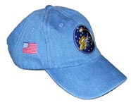 Blue Denim Hat-Friends of Mike Pinder